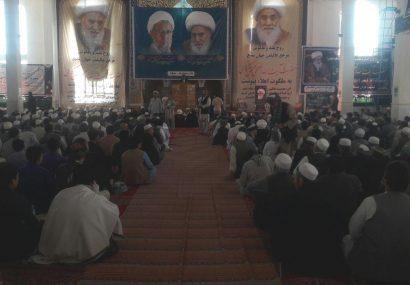 همایش چندین هزار نفری مردم هرات در یادبود از آیتالله العظمی محقق کابلی