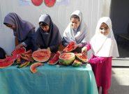 دانش آموزان هرات جشن هندوانه به راه انداختند