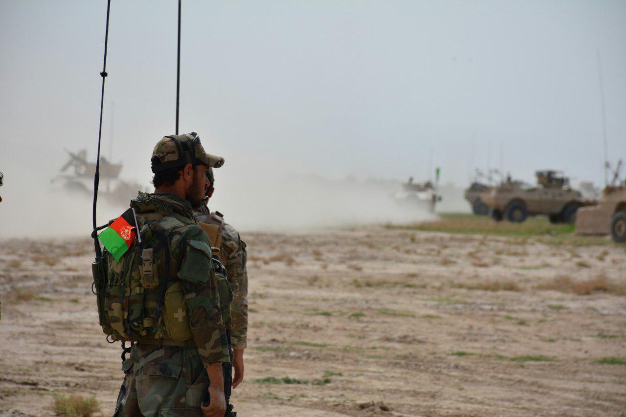 عملیات بالابلوک فراه با ۱۴ کشته و ۱۱ زخمی از طالبان پایان یافت