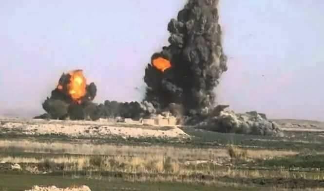 دو کارخانه تولید مواد مخدر و یک انبار تسلیحات طالبان در فراه از بین رفتند