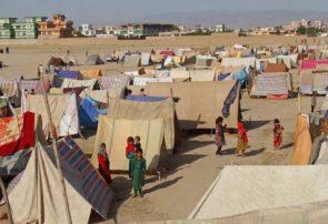 موسسات کمکرسان در بادغیس توزیع آب آشامیدنی برای بیجاشدگان را متوقف کردهاند