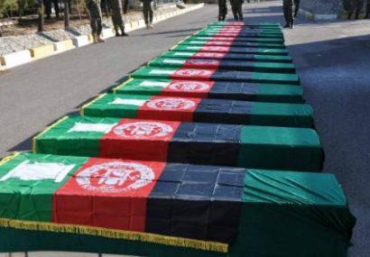 طالبان در بادغیس پیکرهای ۳۴ نیروی ویژه ارتش را به دولت تحویل دادند