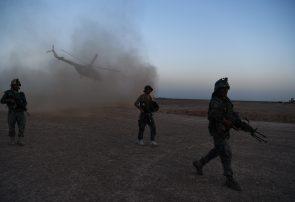 سه کارخانه با یک هزار و ۸۰ تُن مواد مخدر طالبان در فراه از بین رفتند