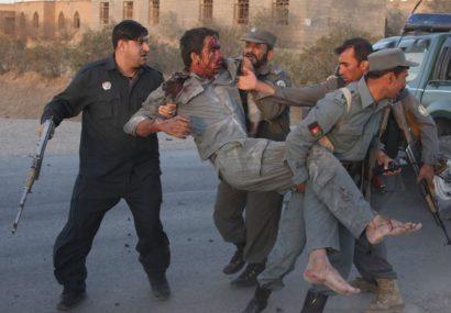 حمله شبانه طالبان جان دو سرباز پولیس را در مرکز فراه گرفت