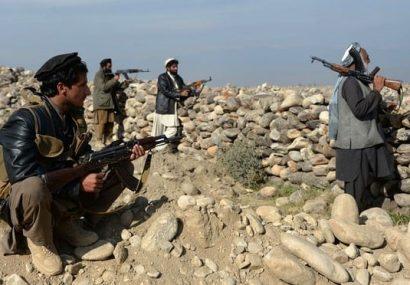 قتل عام نیروهای مردمی در ولسوالی ساغر غور/ طالبان جان ۳۰ تن از این نیروها را گرفتند