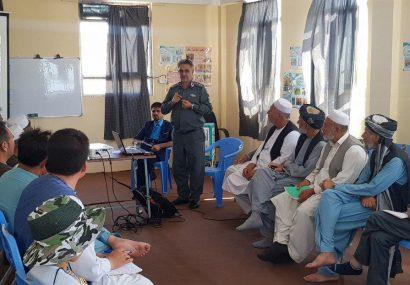 پولیس مردمی هرات جلسه امنیت و انکشاف شهری را برگزار کرد