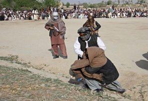 طالبان در دادگاه صحرایی دو غیرنظامی میانسال را در غور تیرباران کردند