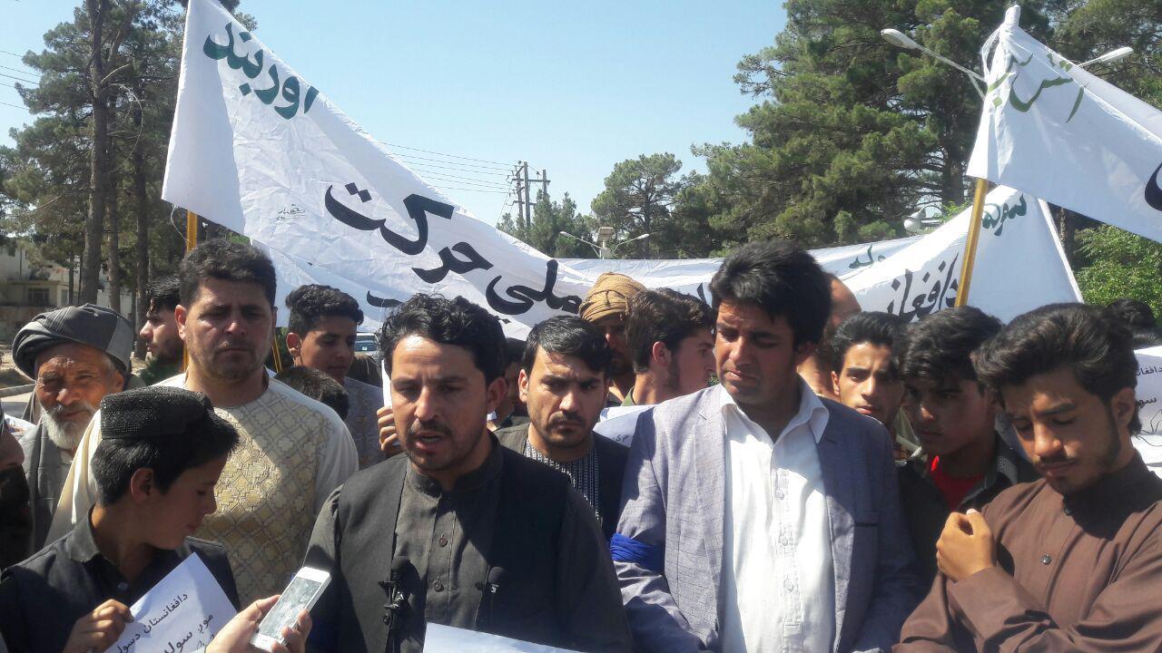 کاروان صلح خواهان از قندهار به هرات رسید