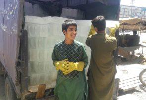 گرمترین شب و روزهای سال در هرات و خرید و فروش یخ