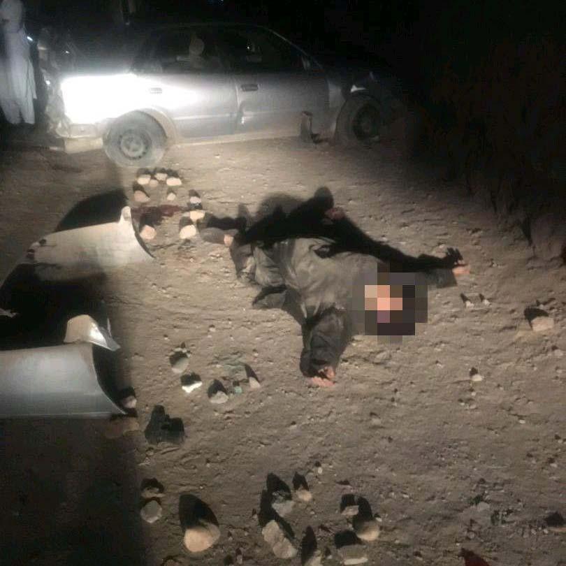 یک آدمربا با شلیک گلوله پولیس هرات از پای درآمد