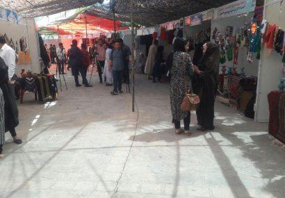 نمایشگاه صنایع دستی زنان غرب کشور در هرات برپا شد