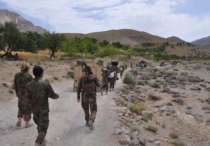 در نبردهای اخیر بادغیس ۱۰ نیروی امنیتی و ۱۵ عضو طالبان جان باختند