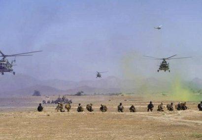 عملیات زمینی و بمباران هوایی ۷۳۰ کشته و ۳۵۰ زخمی از طالبان فراه گرفته است
