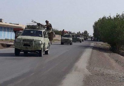 عملیات پاکسازی در حومه شهر فراه ۱۵۰ کشته و ۵۰ زخمی از طالبان گرفت