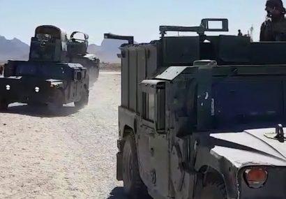 عملیات سرکوب گرایانه دولت در فراه تمام شد/سه کشته و چهار زخمی طالبان
