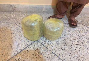 پولیس هرات ۱۶ و نیم کیلوگرام چرس را از مرد فراهی گرفت