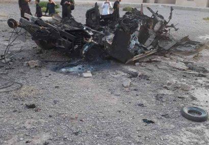 طالبان فراه در تانک هاموی دولت کشته شدند