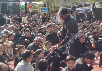 مردم بکرآباد هرات عاشورای امسال را باشکوه برگزار کردند