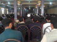 عالمانی دینی و برخی جوانان هرات هفتمین روز درگذشت حضرت آیت الله سید حسین ساجدی را گرامی داشتند