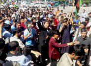 تیم طوفان هریرود با استقبال با شکوه مردم وارد شهر هرات شد