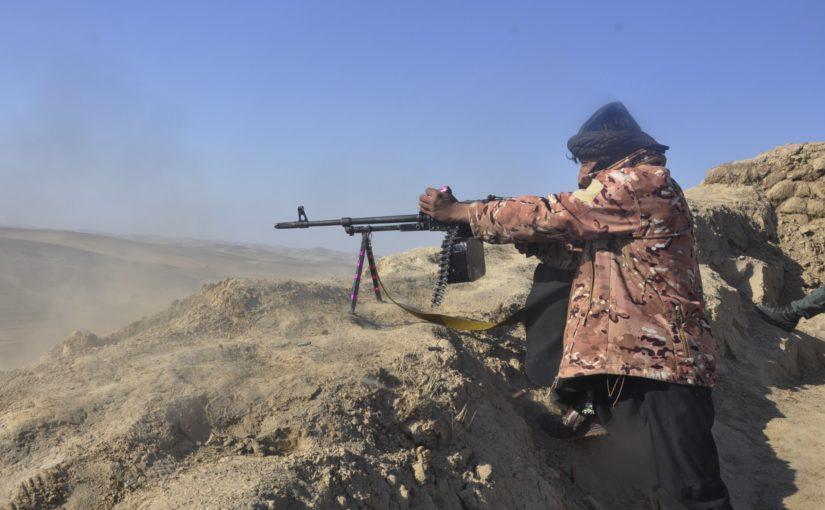 ولسوال خودخوانده طالبان برای تولک غور توسط پولیس کشته شد