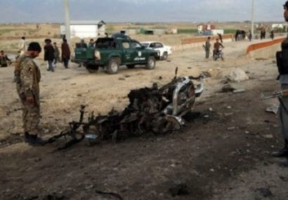 انفجاری در غور یک کشته و یک زخمی از غیرنظامیان گرفت