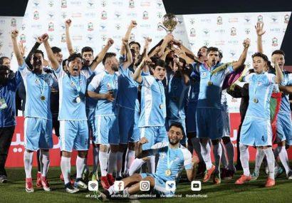 تیم فوتبال طوفان هریرود هرات قهرمان فصل هشتم لیگ برتر کشور شد