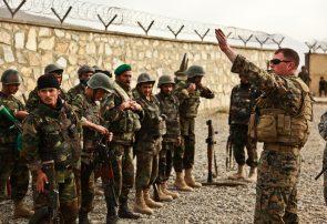 نیروهای خارجی بر یک سرباز ارتش تیراندازی کردهاند