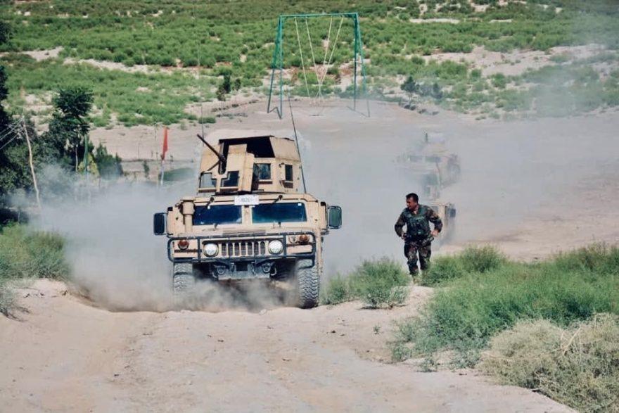 طالبان فراه در کمینی ناکام شش کشته و سه زخمی دادند