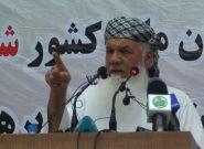 افغانستان اشغال شده است/ طالبان با سران افغانستان مذاکره کنند/ افغانستان جای آمریکاییها نیست