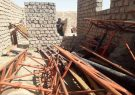 محل نگهداری آهن آلات ربوده شده پروژه سیمنت زنده جان هرات لو رفت