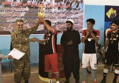 تیم امیریان قهرمان مسابقات فوتسال جام صلح و همدلی شد