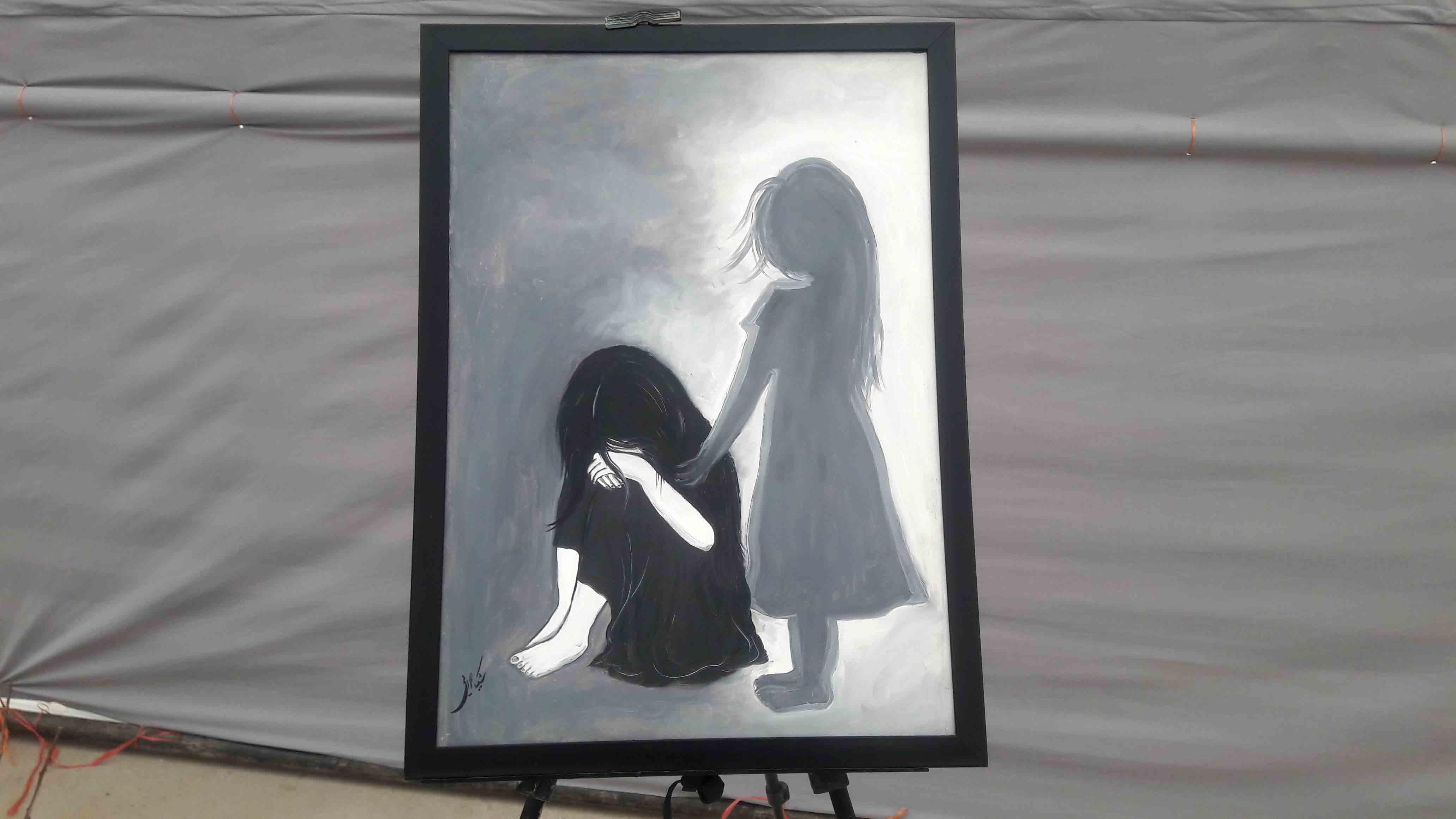 نمایشگاه نقاشی بانوان افغان در هرات بر پا شد