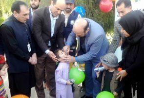 کارزار خزانی تطبیق واکسین پولیو در هرات آغاز شد