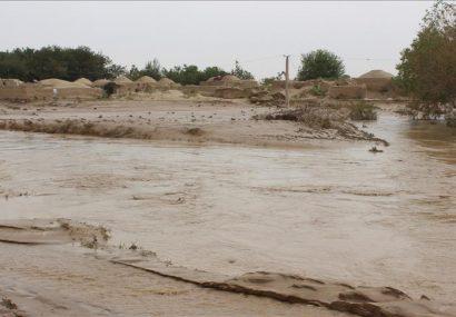 بارندگیهای اخیر غور سیلاب و خسارات مالی به بار آورد