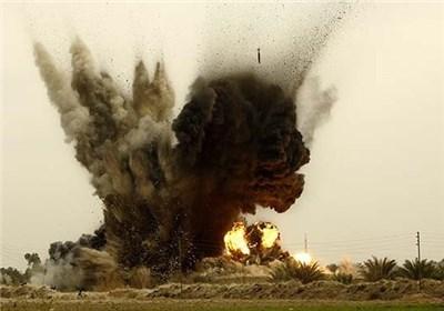 دو تانک مملو از مواد انفجاری طالبان در فراه از بین برده شد