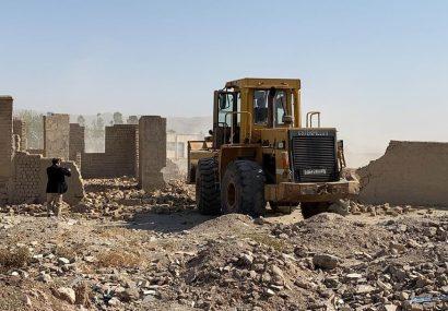 سه جریب زمین غصب شده دولتی در هرات پس گرفته شد