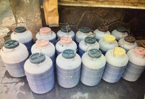 ۳۰۰ لیتر مشروبات الکلی در هرات کشف و ضبط شد