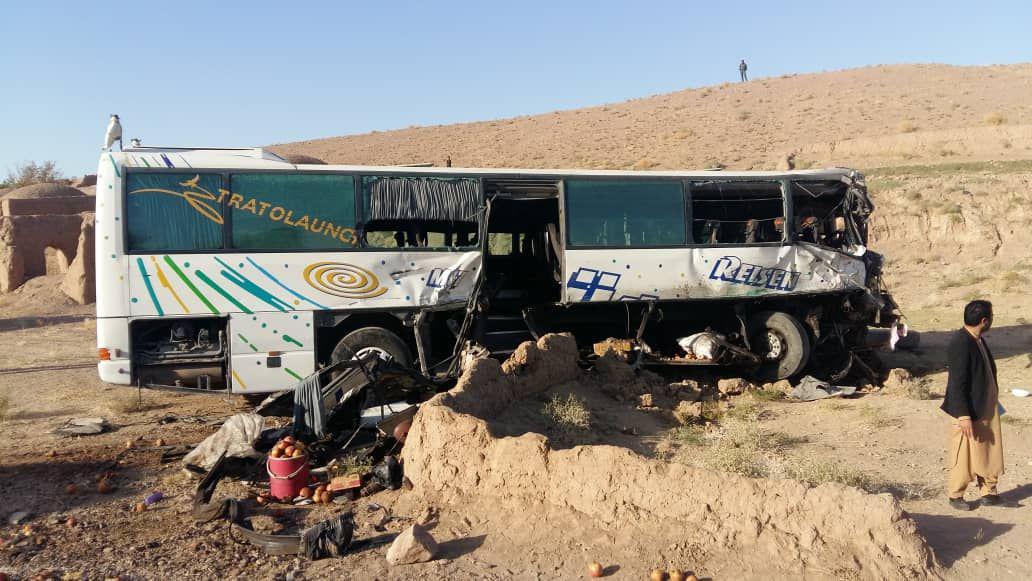 حادثه ترافیکی در هرات دو کشته و هشت زخمی به جا گذاشت