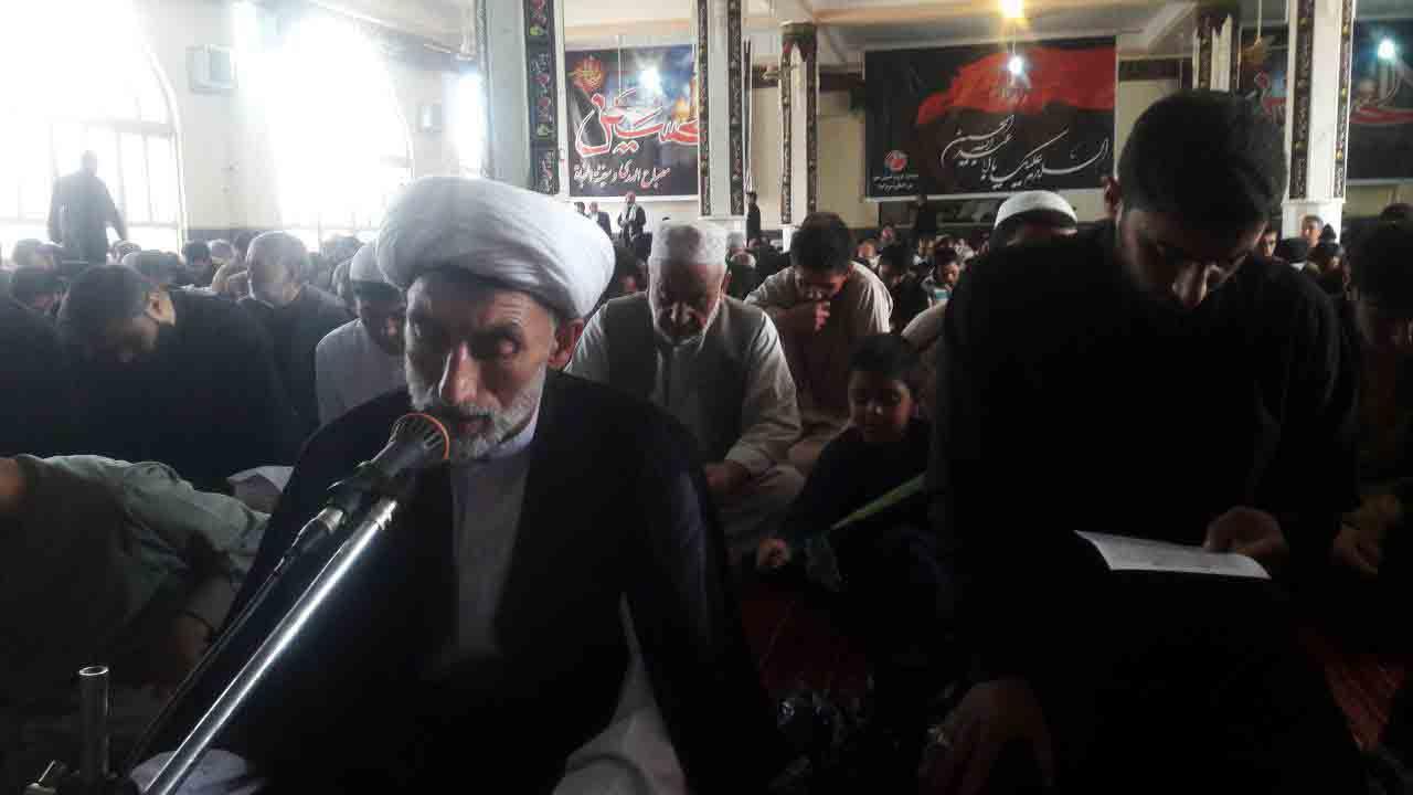 مراسم اربعین حسینی با حضور صدها دلباخته اهل بیت(ع) در هرات برپا شد
