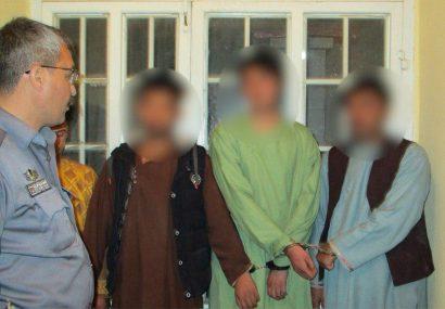 پولیس هرات مانع زورگیری چهار مرد مسلح شد