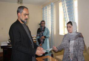 ریاست امور زنان هرات خواستار به کارگیری بانوان در امور اداری ولسوالیها شد