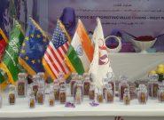 نمایشگاه پنجمین جشنواره گل زعفران هرات گشایش یافت