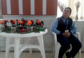 کودکان دارای معلولیت ذهنی در هرات نمایشگاهی برپا کردند
