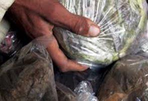 پولیس بادغیس یک کیلو و ۴۰۰ گرام مواد مخدر را کشف کرد