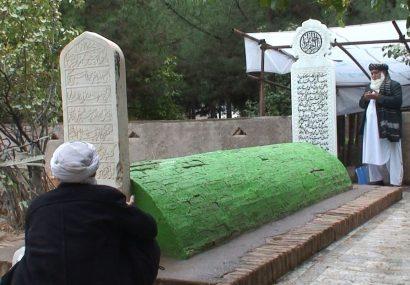کار مرمت آرامگاه حسین واعظ کاشفی در هرات شروع شد