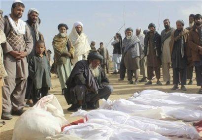 بمباران هوایی هشت کشته و هشت زخمی از مردم فراه گرفت
