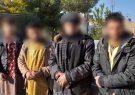 چهار سارق حرفهای گیر پولیس هرات افتادند