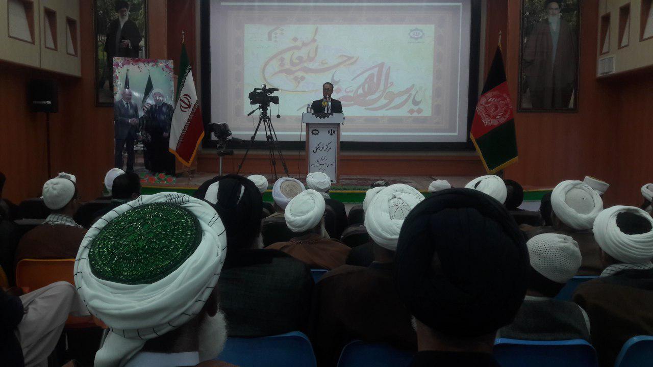 نشست علمی علمای دینی هرات پیرامون وحدت اسلامی در مرکز فرهنگی ایران