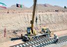 ریلگذاری قطعه سوم راه آهن هرات – خاف سه ماه بعد تکمیل میشود